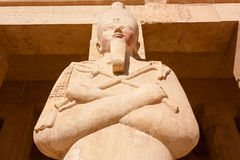 Statue de Dieu égyptien Osiris Photos libres de droits