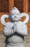 Statue de distributeur d'argent Images libres de droits