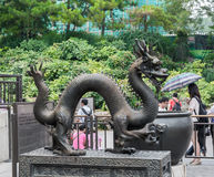 Statue de dragon Photographie stock