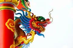 Statue de dragon chinois Photo stock