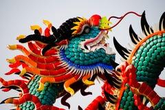 Statue de dragon chinois Images libres de droits