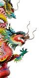 Statue de dragon de type chinois Photo stock