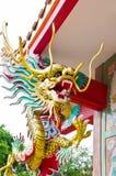 Statue de dragon de type chinois Photos stock