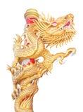 Statue de dragon de type chinois photo libre de droits