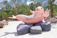 Statue de Dugongs photo stock