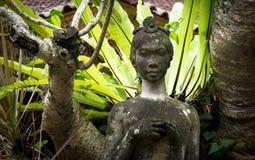 Statue de femme dans Bali Indonésie Image stock
