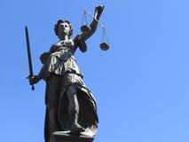 Statue de femme de justice images libres de droits