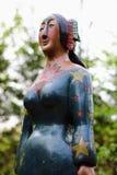 Statue de femme indigène photos libres de droits