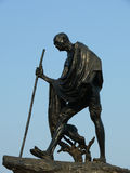 Statue de fer Photos libres de droits