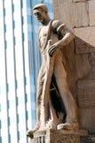 Statue de Francfort, Allemagne photographie stock libre de droits