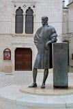 Statue de Frane Petric Photographie stock libre de droits