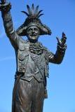 Statue de Frank James Ney Images stock