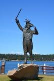 Statue de Frank James Ney Images libres de droits