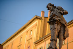 Statue de Galvani Images libres de droits