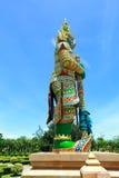 Statue de gardien de démon Photographie stock