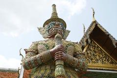 Statue de gardien, Wat Phra Kaew, Bangkok, Thaïlande Images stock