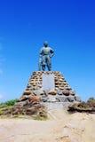 Statue de geopark de Yehliu Images libres de droits