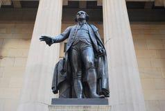Statue de George Washington images libres de droits