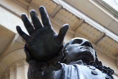 Statue de George Washington, construction fédérale, NY photos libres de droits