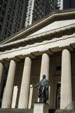 Statue de George Washington, Hall fédéral, New York City Photos libres de droits