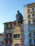 Statue de Giuseppe Garibaldi, Como, Italie Image libre de droits