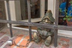 Statue de Gnome à wroclaw photos stock