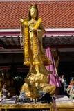 Statue de Guan Yin Image libre de droits