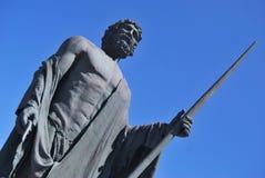 Statue de Guanches Photographie stock libre de droits