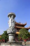Statue de Guanyin de temple tianzhuyan Image stock