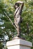 Statue de guerre civile images stock