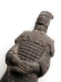 Statue de guerrier de Terracota Image libre de droits