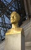 Statue de Gustave Eiffel, Paris Photo stock
