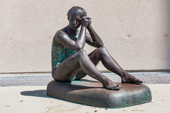 Statue de gymnaste olympique Theresa Kulikowski image stock