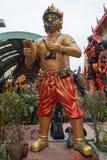 Statue de Hanuman au temple de Wat Ta Khian, province de Nothaburi, Thail photos libres de droits