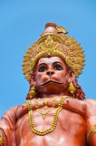 Statue de Hanuman chez le Sikkim, Inde photos stock