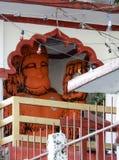 Statue de hanuman d'un dieu dans la religion indoue photographie stock libre de droits