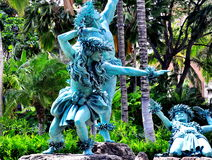 Statue de Hawaiin Photographie stock libre de droits
