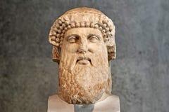 Statue de Hermes de stele hermaic photos libres de droits