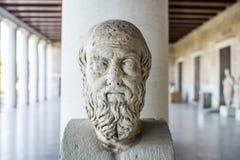 Statue de Herodotus image stock