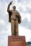 Statue de Ho Chi Minh Photographie stock libre de droits