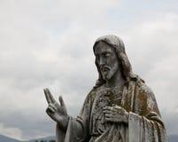 Statue de Jésus Photographie stock
