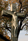 Statue de Jésus Photo libre de droits