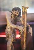 Statue de Jésus sur le Vendredi Saint dans la cathédrale de Burgos Photos stock