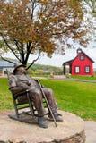 Statue de J. Beam à la distillerie de faisceau de JIM Image libre de droits