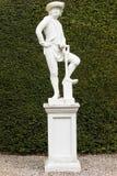 Statue de jardinier dans Glamis images libres de droits