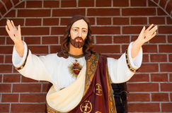 Statue de Jesus Christ Image libre de droits