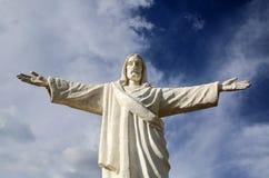 Statue de Jesus Christ au Pérou Image libre de droits