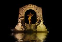 Statue de Johann Strauss Images stock