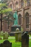 Statue de John Watts images libres de droits