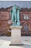 Statue de John Witherspoon (1723-1794) sur le c Photographie stock libre de droits